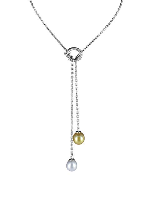 Pendentif double perles - Les 3 Ors